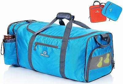 Binlion Carry on Rolling Smell Proof Large Travel Gym Sport Holdall Duffel Bag