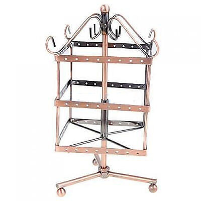 Jewelry Showcase Display Metal Holder Stand Square Shape