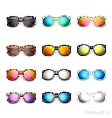 Retro Hippie Sunglasses Vintage New Men Women Fashion Round Circle Glasses