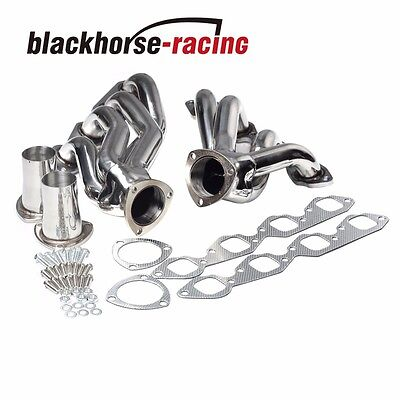 Stainless Exhaust Manifold Shorty Header Fits Big Block 396/402/427/454/502 V8