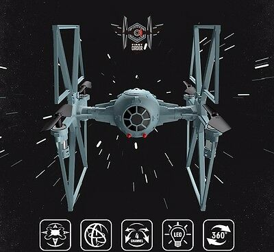 Star Wars Toy Remote Control Tie Fighter Quadcopter RC Helicopter 2.4G Drones