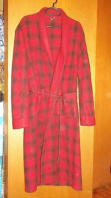 EUC - Vintage Mens pure wool Smokers Jacket Robe - SZ S to M - 90 - 100 cm