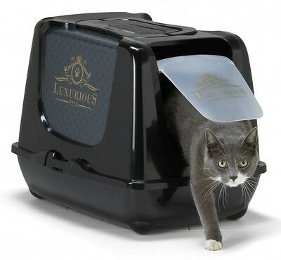 MAISON DE TOILETTE CHAT/BAC LITIERE POUR CHAT ''LUXURIOUS'' Réf AS97395LMP