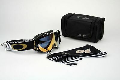 Oakley Airbrake MX Herlings Bullet 24k Iridium OO7046-22 DH Enduro NEU