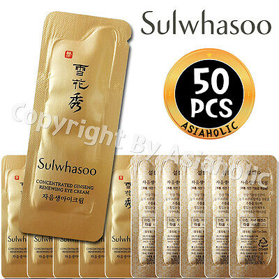 Sulwhasoo Concentrated Ginseng Renewing Eye Cream 1ml x 50pcs (50ml) Sample