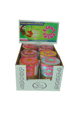 Uncle Jimmy's Licky Thing Mixed Case - 12 Pack - Licks, Holders & Toys