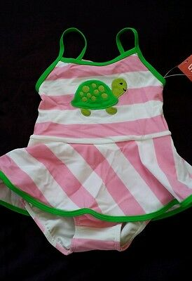 Nwt Gymboree Tennis Match Turtle Swimsuit 3T 3