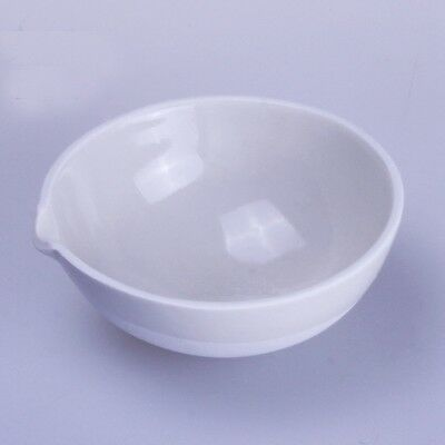75ml Ceramic Evaporating dish Round bottom with spout For Laboratory