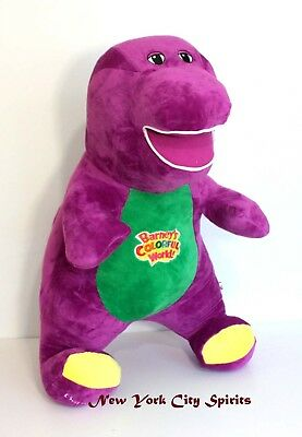"""Barney Plush Singing """" I Love You"""" Song 24 Inches"""