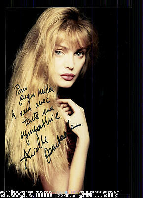 Arielle Dombasle TOP FOTO Orig. Sign. +19894 + 86471