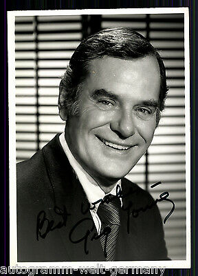 Gig Young (+1978) TOP Foto Orig. Sign. u.a. Gibbsville + G 8564