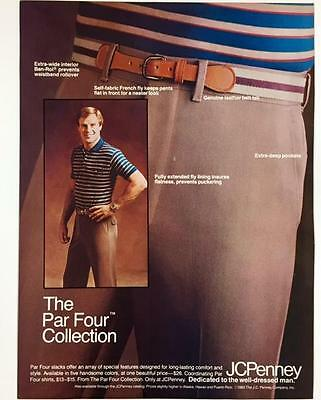 Original 1984 JCPenney JC Penney Advertisement Full Color Vintage Print Ad