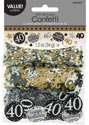 """/""""BEST DEAL on !/""""  H// Heart 40th 50th 60th 70th Birthday Party Table Confetti"""