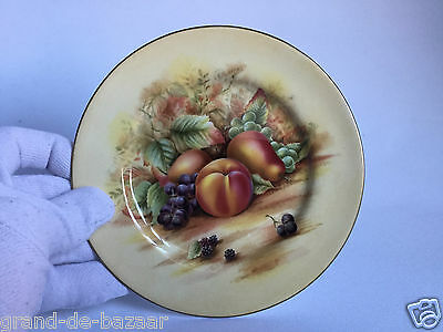 "Aynsley Orchard Gold Side Plate Vintage 6.5"" inch"