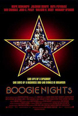 Boogie Nights Movie POSTER 27 x 40 Mark Wahlberg, Michael Penn, A, LICENSED NEW
