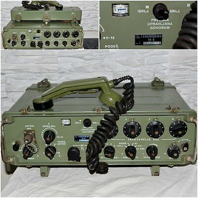 Military HF radio device RUP-15 Yugoslav Army