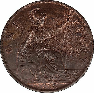 1913&1916 Bronze Penny George V [2] coins in this listing