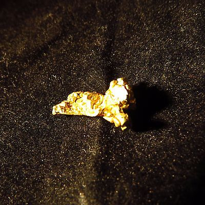 Native Gold Crystal Nugget, PNG