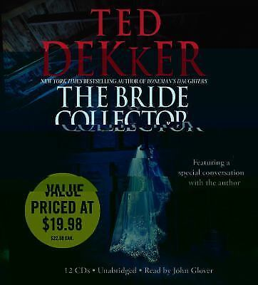 THE BRIDE COLLECTOR unabridged audio book on CD by TED DEKKER