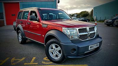 Dodge Nitro 2.8Crd 61K Miles 2 Owners Very Clean 6 Speed Manual 4X4 Jeep Diesel