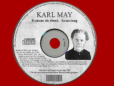 ✔ Karl May ✔ eBook ✔ Ebooksammlung CD-Rom Sammlung Winnetou WESTERN Old Surehand