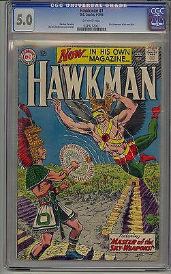 Hawkman #1 Cgc 5.0 Off-White Pages
