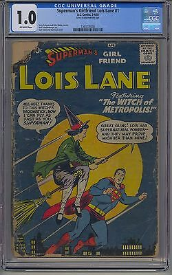 Superman's Girlfriend Lois Lane #1 Cgc 1.0 Off-White Pages