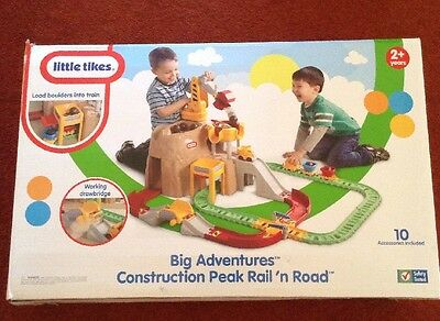Little Tikes Construction Peak Rail Road Play Toy