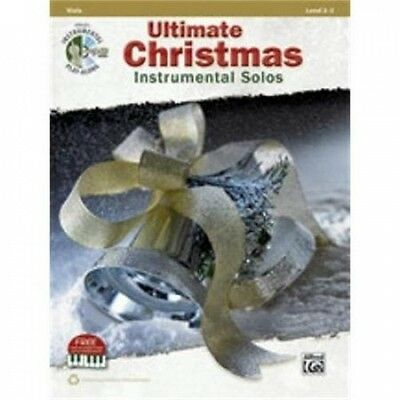 Alfred Ultimate Christmas Instrumental Solos for Strings. Shipping is Free