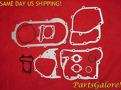 Full Gasket Set GY6 150 150cc Short Case 41cm Honda Chinese European Scooter