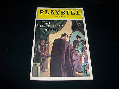 Playbill - TWO SHAKESPEAREAN ACTORS - With TICKET STUB - FLOP - RARE