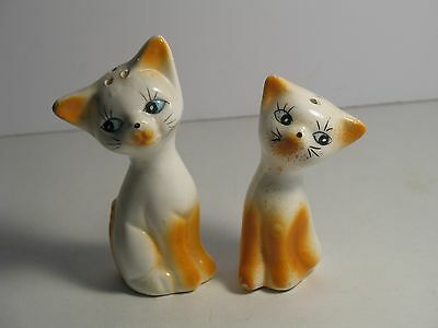 VTG Siamese Flame Point Cat Salt and Pepper Shakers