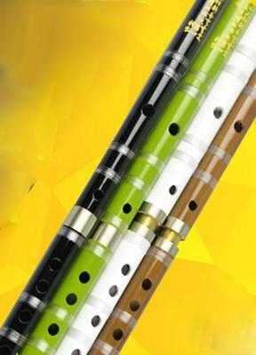 Beginners Professional Bitter Bamboo Flute Chinese Dizi Instrument 2 Sections