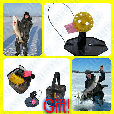20 pcs Ice Fishing Tip Up! +Gift! For successful fishing predatory fish!Tested!