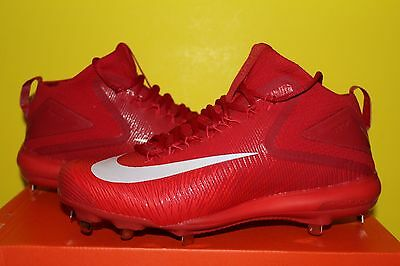 Nike Air Zoom Trout 3 Metal Baseball Cleats Red/White 856503-667