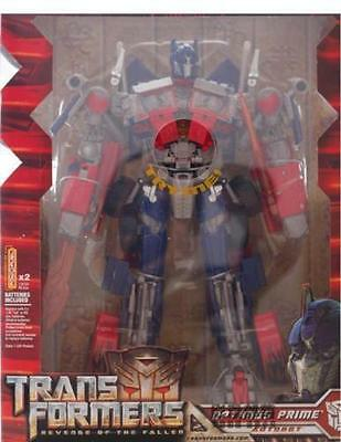 New Transformers Rotf Leader Class Optimus Prime Double-edged Figure Toy in Box