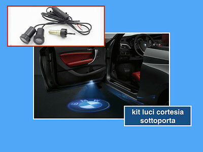 Kit Luce Led Bmw Logo Proiettore Cortesia Led Tuning Sottoporta Portiera Lights