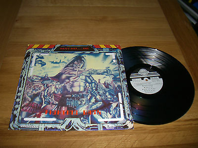 Cloven Hoof-fighting back.lp + poster + inserts.