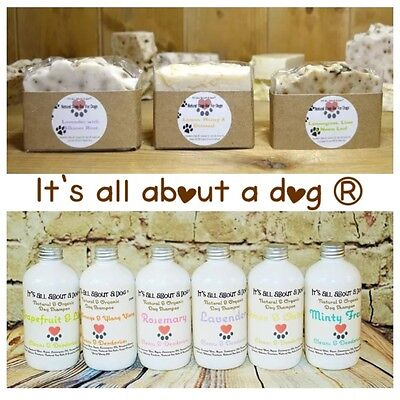 Natural Organic Certified Dog Shampoo Soap Coat Care Shampoos Soaps For Dogs
