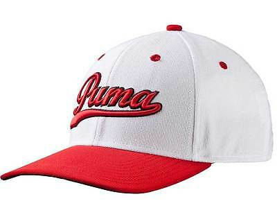 Puma Script Fitted Cap Red