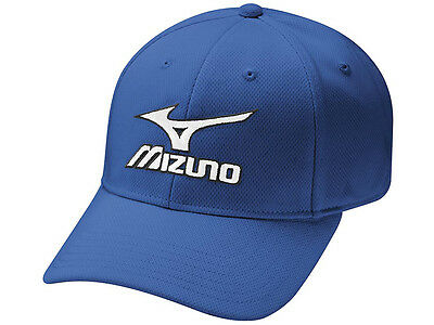 Mizuno Tour Fitted Cap - Blue
