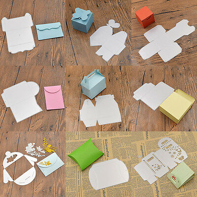 Scrapbooking Gift Box Cutting Dies Stencils for Photo Album Embossing Card Decor