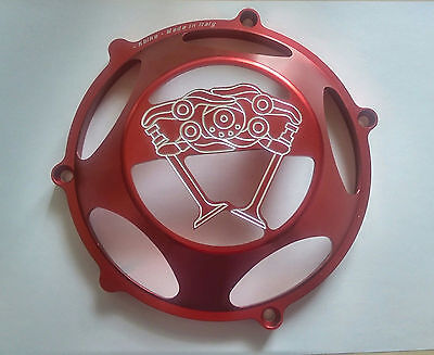 Ducati 748/916/996/998 clutch cover DESMO desmodromik RED / Free P&P / NEW