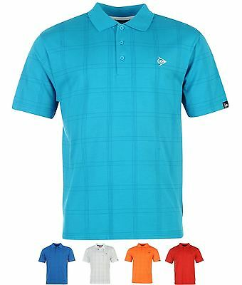 SALDI Dunlop Check Golf Polo Uomo 36102694