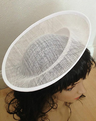 Hat Sinamay Dipped  Base 28 cm Great for making fascinators party hats