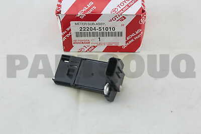 2220451010 Genuine Toyota METER SUB-ASSY, INTAKE AIR FLOW 22204-51010