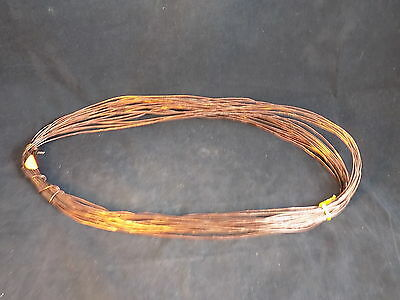 COPPER WIRE 1.5mm thick unsheathed copper approx 50 foot solid copper