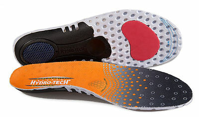 Hydro-Tech Sports Orthotic Sports Insoles with Impact shell absorber Orthopedic