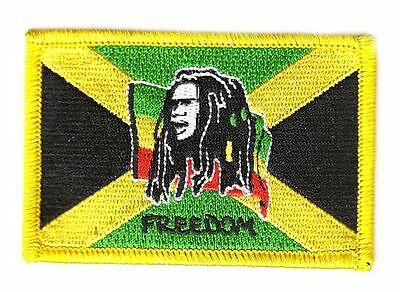 Aufnäher Bob Marley Patch Flagge Fahne