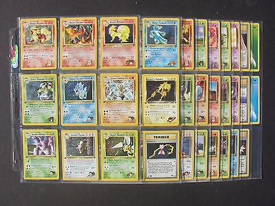 Pokemon COMPLETE 1ST EDITION GYM CHALLENGE SET 132/132 - CHARIZARD (NM/MT+)